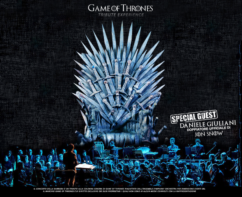 Gran Concerto della Barriera Game of Thrones